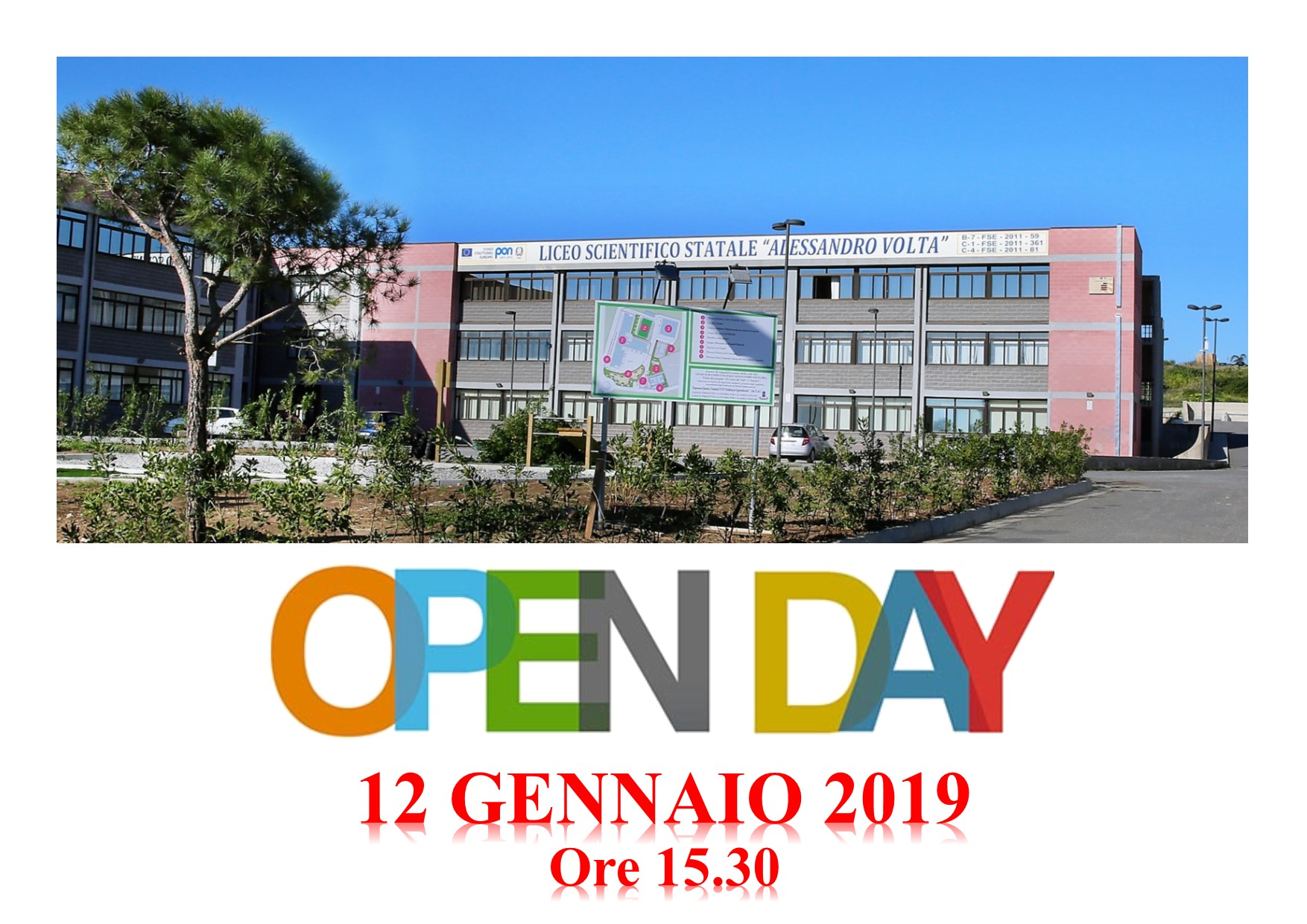 OPEN DAY 12/01/2019